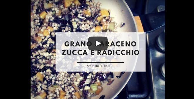 Video ricetta – Grano saraceno con zucca